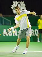 10-02-13, Tennis, Rotterdam, qualification ABNAMROWTT, Daniel Brands