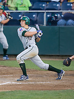 June 25, 2008: Josh Vitters of the Boise Hawks at-bat during a Northwest League game against the Everett AquaSox at Everett Memorial Stadium in Everett, Washington.