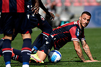 Marko Arnautovic of Bologna FC in action during the Serie A football match between Bologna FC and SS Lazio at Renato Dall'Ara stadium in Bologna (Italy), October 3rd, 2021. Photo Andrea Staccioli / Insidefoto