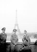Der Fuhrer Adolf Hitler in Paris,  June 23, 1940.  Heinrich Hoffman Collection.