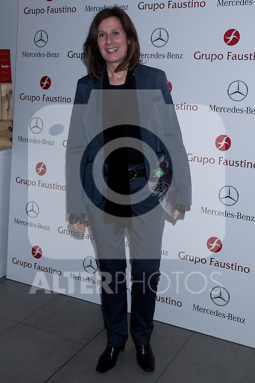 08.05.2012. IV Edition of the International Theatre for authors Novice Agustin Gonzalez has taken place in the Beef Place Restaurant in Madrid. In the picture: Esperanza Elipe (Alterphotos/Marta Gonzalez).