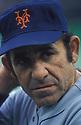 New York Mets Yogi Berra (8) portrait   Yogi Berra coached the New York Mets from 1972-1975. Yogi Berra was inducted to the Baseball Hall of Fame in 1972.David Durochik/SportPics