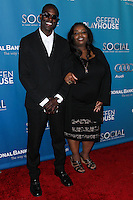 """WESTWOOD, LOS ANGELES, CA, USA - MARCH 22: Lanre Idewu, Cynthia Stafford at the Geffen Playhouse's Annual """"Backstage At The Geffen"""" Gala held at Geffen Playhouse on March 22, 2014 in Westwood, Los Angeles, California, United States. (Photo by Xavier Collin/Celebrity Monitor)"""