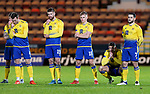 Dunfermline v St Johnstone…15.12.20   East End Park      BetFred Cup<br />Callum Hendry, Jamie McCart, Shaun Rooney, Ali McCann, Liam Gordon and Craig Conway watch the penalty shoot out<br />Picture by Graeme Hart.<br />Copyright Perthshire Picture Agency<br />Tel: 01738 623350  Mobile: 07990 594431