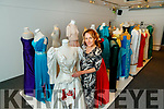 Sandra Leahy preparing the Rose of Tralee dress collection at Kerry County Museum