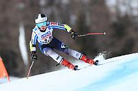 18th February 2021; Cortina d'Ampezzo, Italy; FIS Alpine World Ski Championships  Cortina Women's Giant Slalom; Riikka Honkanen (FIN)