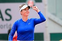 joie de Elina Svitolina (ukr) <br /> Parigi 04/10/2020 Roland Garros <br /> Tennis Grande Slam 2020<br /> French Open <br /> Photo JB Autissier / Panoramic / Insidefoto <br /> ITALY ONLY