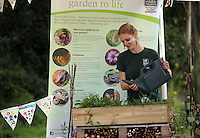Pictured: Candice Laroche at at the Gwent Wildlife Trust Saturday 13 August 2016<br />