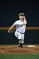 Bradenton Marauders relief pitcher Daniel Zamora (36) delivers a pitch during a game against the Clearwater Threshers on April 18, 2017 at LECOM Park in Bradenton, Florida.  Clearwater defeated Bradenton 4-2.  (Mike Janes/Four Seam Images)