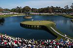 Tournament Players Club Championship (TPC) at Sawgrass, Ponte Vedra Beach, Florida - Number 17 Island Hole