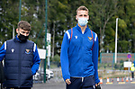 St Johnstone v Rangers…11.09.21  McDiarmid Park    SPFL<br />Eetu Vertainen arrives ahead of today's game against Rangers<br />Picture by Graeme Hart.<br />Copyright Perthshire Picture Agency<br />Tel: 01738 623350  Mobile: 07990 594431