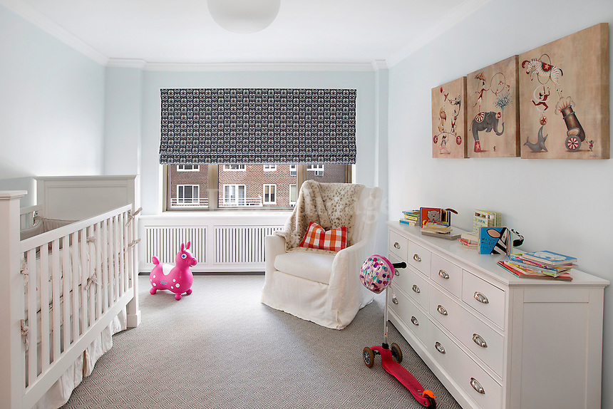 Baby room with toys