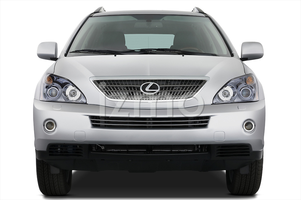 Straight front view of a 2008 Lexus RX Hybrid