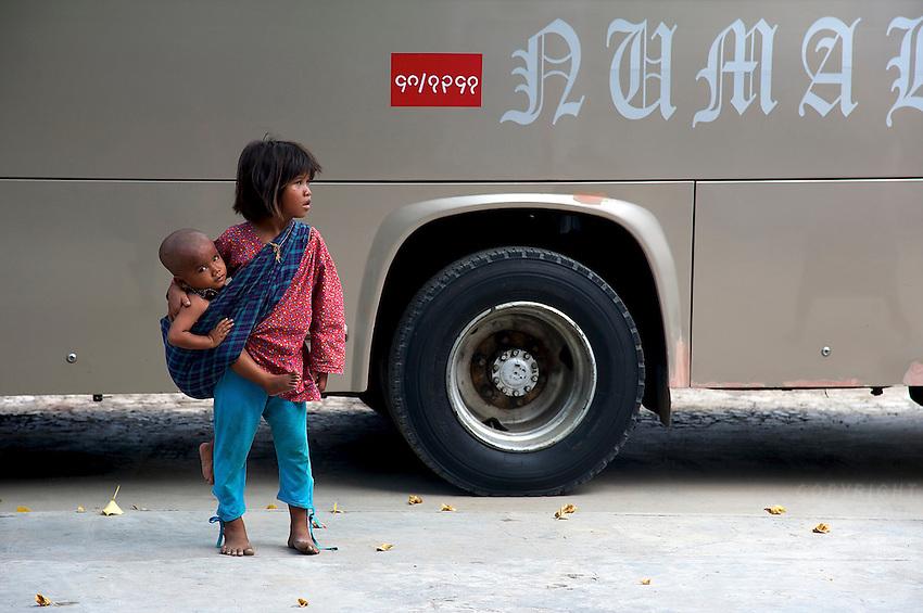 Poverty in  Mandalay, Myanmar