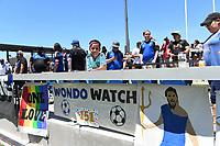 SAN JOSE, CA - JUNE 8: Fans during a game between FC Dallas and San Jose Earthquakes at Avaya Stadium on June 8, 2019 in San Jose, California.
