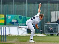 23rd September 2021; Aigburth, Liverpool, Merseyside, England; LV=Country Cricket Championship; Lancashire versus Hampshire; Brad Wheal of Hampshire bowling