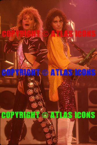 David Lee Roth Band Live 1986 Neil Zlozower Photo Credit Neil Zlozower Atlasicons Com Atlas Icons