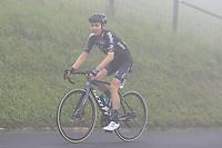22nd May 2021, Monte Zoncolan, Italy; Giro d'Italia, Tour of Italy, route stage 14, Cittadella to Monte Zoncolan; 195 HAMILTON Christopher AUS