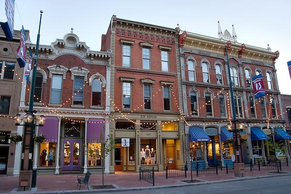 Larimer Square Denver, Colorado, USA John offers private photo tours of Denver, Boulder and Rocky Mountain National Park.
