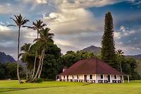 Waioli Mission Hall. Kauai, Hawaii
