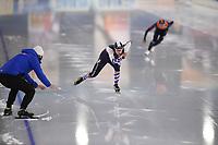 SCHAATSEN: HEERENVEEN: 01-11-2020, IJsstadion Thialf, Daikin NK Afstanden 2020, ©foto Martin de Jong