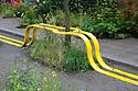 A Riot of Colour show garden, designed by Edible Bus Stop, Hampton Court Flower Show 2012.