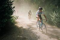 Guillaume Boivin (CAN/Israel Cycling Academy)<br /> <br /> 3rd Dwars Door Het hageland 2018 (BEL)<br /> 1 day race:  Aarschot > Diest: 198km