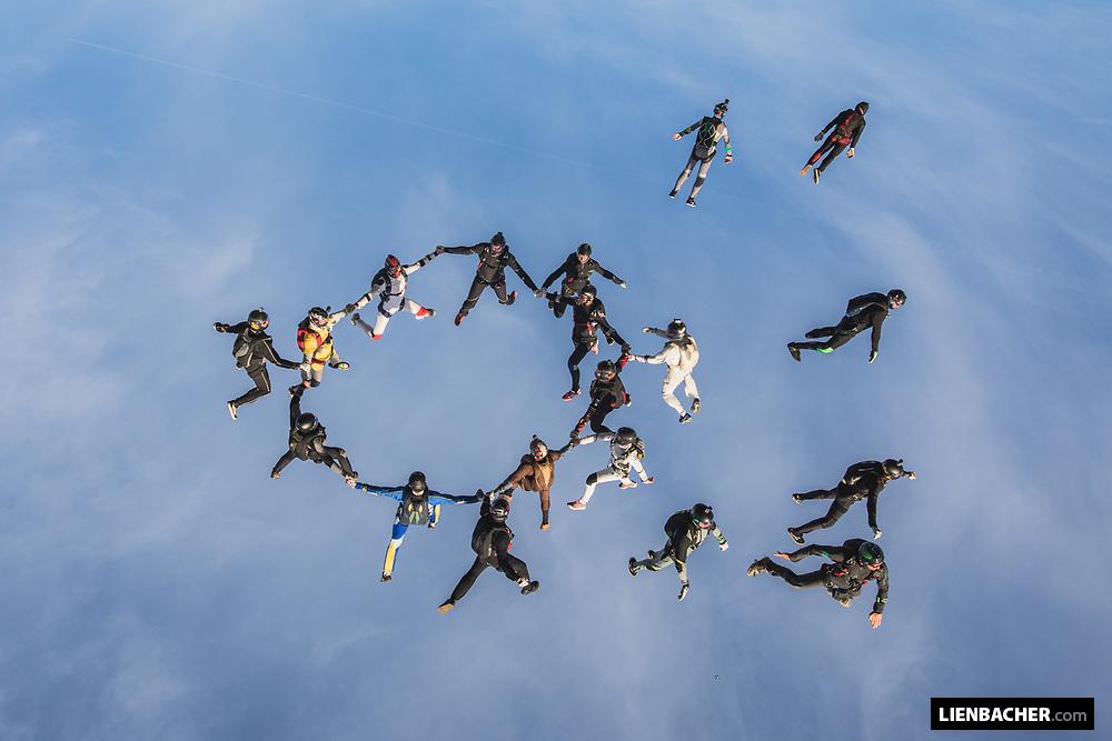 German Vertical Skydiving Record 2018 - Day 1, 2018-10-03, Zweibrücken/Germany