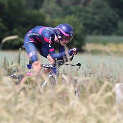 21-06-2017: Wielrennen: NK Tijdrijden: Montferland  s-Heerenberg (NED) wielrennen  <br /> Beloften <br /> Harthijs de Vries