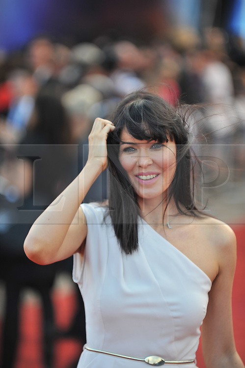 © Licensed to London News Pictures. 11/08/2011. London, England.Lindsay Stoppard attends the U.K premiere of Cowboys and Aliens Starring Harrison Ford and Daniel Craig at the O2 Cineworld London Photo credit : ALAN ROXBOROUGH/LNP