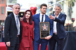 Priscilla Presley, David Foster attend the ceremony honoring Michael Buble with a star on The Hollywood Walk Of Fame on November 16, 2018 in Los Angeles, CA, USA. Photo by Lionel Hahn/ABACAPRESS.COM