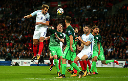 Harry Kane of England scores a goal but its disallowed - Mandatory by-line: Robbie Stephenson/JMP - 05/10/2017 - FOOTBALL - Wembley Stadium - London, United Kingdom - England v Slovenia - World Cup qualifier