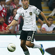Germany's Thomas MULLER during their UEFA EURO 2012 Qualifying round Group A matchday 19 soccer match Turkey betwen Germany at TT Arena in Istanbul October 7, 2011. Photo by TURKPIX