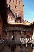 Photo of the old castle at Trakai, Lithuania