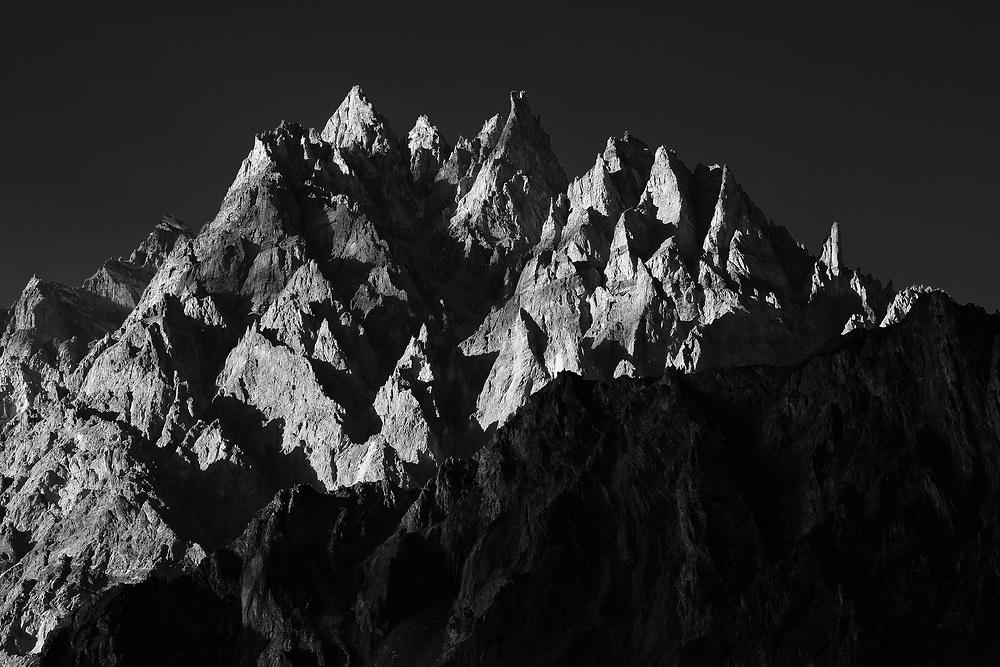 The Passu Cones, Hunza Valley, Pakistan