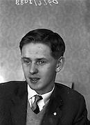15/04/1961<br /> 04/15/1961<br /> 15 April 1961 <br /> Bob Prole, Director of Drumcondra F.C. at 86 Gracepark Road, Griffith Avenue, Drumcondra, Dublin.