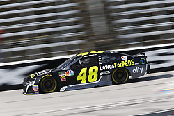 November 2, 2018 - Ft. Worth, Texas, United States of America - Jimmie Johnson (48) takes to the track to practice for the AAA Texas 500 at Texas Motor Speedway in Ft. Worth, Texas. (Credit Image: © Justin R. Noe Asp Inc/ASP via ZUMA Wire)
