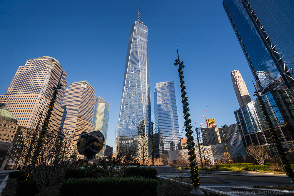 World Trade Center from Liberty Park
