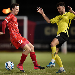 BRISBANE, AUSTRALIA - OCTOBER 7:  during the NPL Queensland Senior Men's Round 18 match between Olympic FC and Moreton Bay Jets at Goodwin Park on October 7, 2020 in Brisbane, Australia. (Photo by Patrick Kearney)