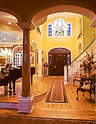 Architectural interior - entry in luxury home