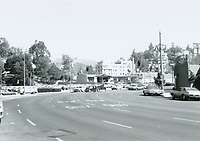 1971 Looking north on Highland Ave. towards Franklin Ave.