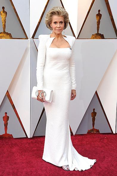 March 4, 2018 - Los Angeles, California, USA - Jane Fonda attending the 90th Annual Academy Awards at Hollywood & Highland Center on March 4, 2018 in Hollywood, California. (Credit Image: © Future-Image via ZUMA Press)