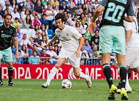 Santiago Solari during the Corazon Classic Match 2016 at Estadio Santiago Bernabeu between Real Madrid Legends and Ajax Legends. Jun 5,2016. (ALTERPHOTOS/Rodrigo Jimenez)