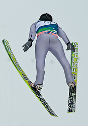 17.03.2011, Planica, Kranjska Gora, SLO, FIS World Cup Finale, Ski Nordisch, Skiflug, im Bild Kamil Stoch (POL, #62) // Kamil Stoch (POL) during a training session of the Ski Jumping World Cup finals in Planica, Slovenia, 17/3/2011. EXPA Pictures © 2011, PhotoCredit: EXPA/ J. Groder
