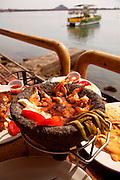 Shrimp dish, Mazatlan, Sinaloa, Mexico