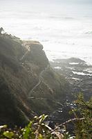 Devil's Churn along the Oregon coast.