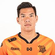 THAILAND - JUNE 24: Pakpoom Lato #34 of PT Prachuap FC on June 24, 2019.<br /> .<br /> .<br /> .<br /> (Photo by: Naratip Golf Srisupab/SEALs Sports Images/MB Media Solutions)