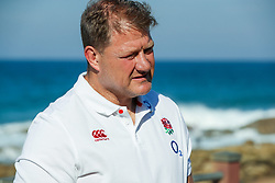 Neal Hatley (scrum specialist)of England during the England Press Conference and England at the  Kashmir restaurant,and team Hotel Umhlanga, Durban,South Africa.12,06,2018 Photo by (Steve Haag JMP)