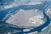 "Y-680413-04. ""Ross Island. April 13, 1968"" (aerial)"