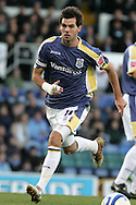 Cardiff city's Joe Ledley, wearing the captains armband for the first time. Coca Cola championship, Cardiff city v Preston NE at Ninian Park on Sat 6th Dec 2008. pic by Andrew Orchard,Andrew Orchard sports photography